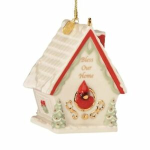 image is loading lenox 2012 annual bless our home christmas ornament - Lenox Christmas Decorations