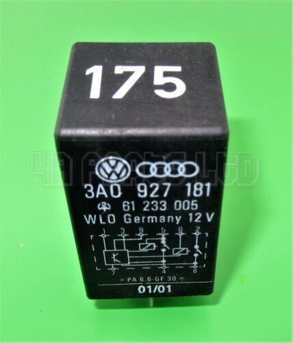 Audi VW Seat Skoda Black-175 Relay Starter 3A0927181 61233005 WLO Germany