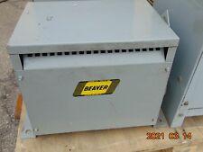 Transformer 10kva Pri 480y Sec240y Beaver Rc10h Cxb