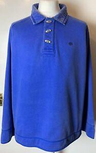 Mens-Fat-Face-Blue-Extra-Heavy-Duty-Fleece-Lined-Toggle-Sweatshirt-Size-XL