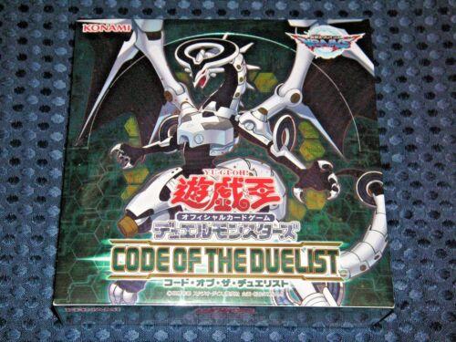 Officiel Jeu de carte Code of the Duelist Booster Box CG1538 japonais Konami Japan F//S Nouveau Yugioh