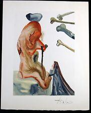 SALVADOR DALI ♦ göttliche komödie HAND SIGNIERT mit Jean Estrade signatur 1963