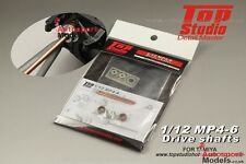 1/12 McLaren MP4/6 Honda Driveshaft detail set for Tamiya kit ~ Top Studio 23157