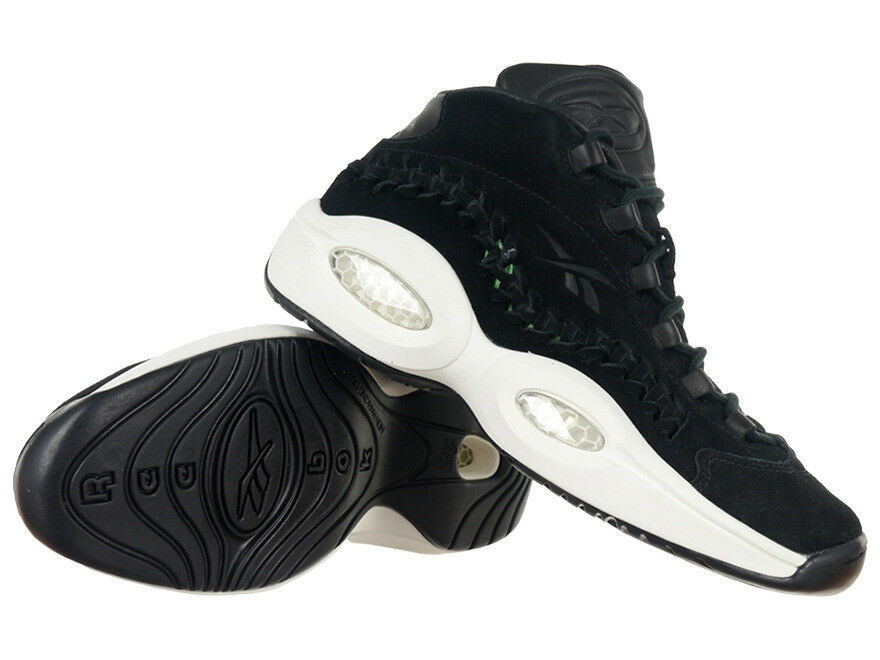 Herren Reebok Question Mid Hall Of Fame Allen Iverson Basketball Sneaker