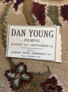 M6-3-Ephemera-1945-Advert-Theatre-Dan-Young-Actor