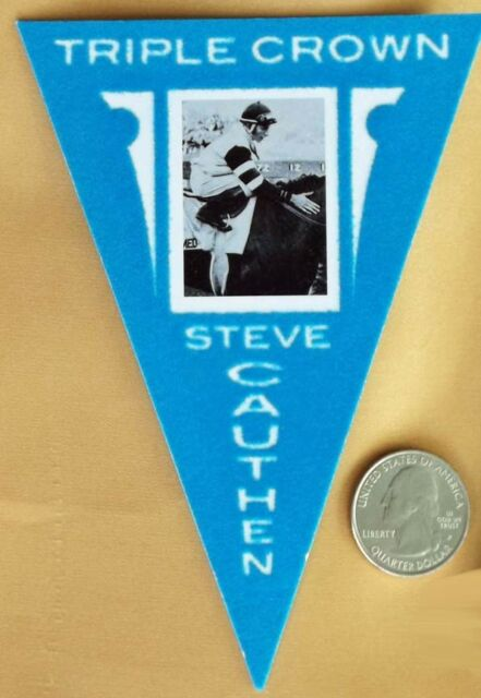 AFFIRMED - STEVE CAUTHEN - TRIPLE CROWN 2012 PANINI HORSE RACING TRADING CARD!