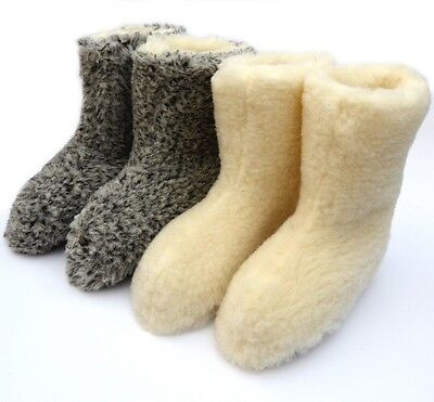 Neueste Kollektion Von Woollen Slippers, Women's, Men's, Boots, Mules Wool Good Gift!!! Gorale Modische Muster