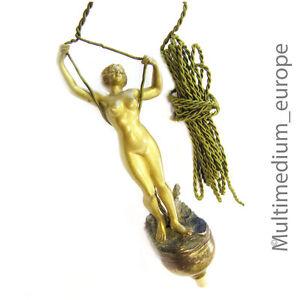 Premere-il-Pulsante-Stile-Liberty-Lady-Figure-Tavolo-Bell-Push-Ringer-Erotica