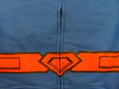 Superman Costume With Cape Zip Up Boys Hoodie