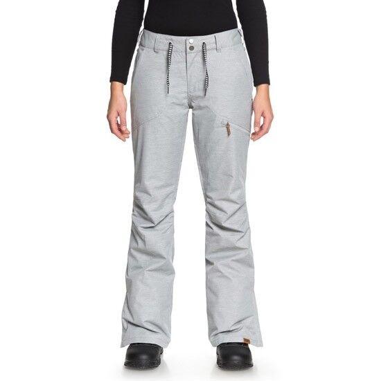 ROXY Nadia Pant W Warm Heather Grey ERJTP03062SJEH  Women's Ski Clothing Pants