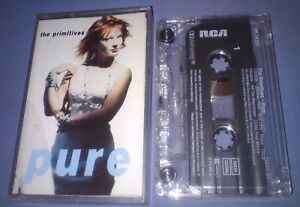 THE-PRIMITIVES-PURE-cassette-tape-album-T4505