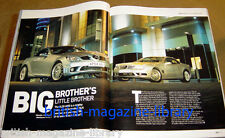 Evo Magazine Issue 79 - Mercedes SL55 AMG vs Mercedes SLK55 AMG