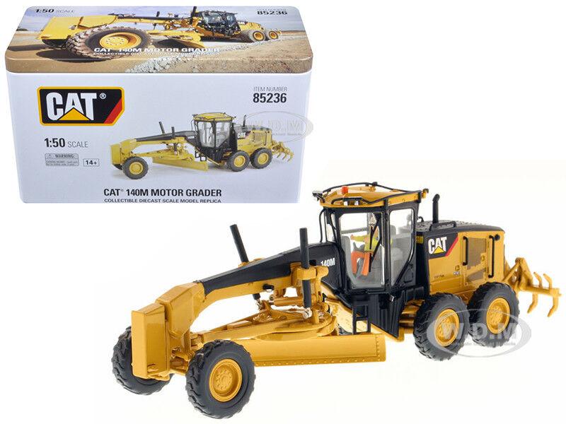 Cat Caterpillar 140M Motor clasificadora con operador 1 50 Modelo por Diecast Masters 85236