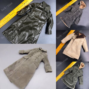 1-6-Scale-WWII-German-Army-Winter-Coats-Overcoat-Soldier-Clothes-Toys-6-Styles