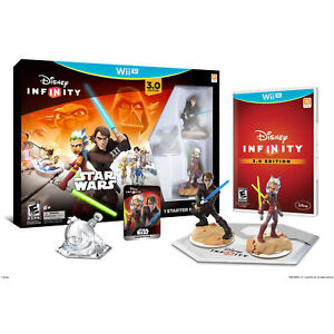 Disney Infinity 3.0 Edition Star Wars Starter Pack for Wii U Brand New Game incl