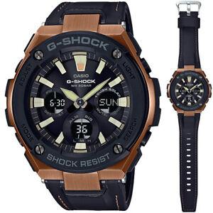 8cce1c61f Casio G-Shock G-Steel GST-S120L-1A Tough Solar Leather Strap Men's ...