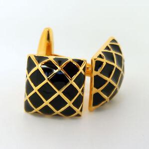 Vintage-negro-y-dorado-Color-Gemelos