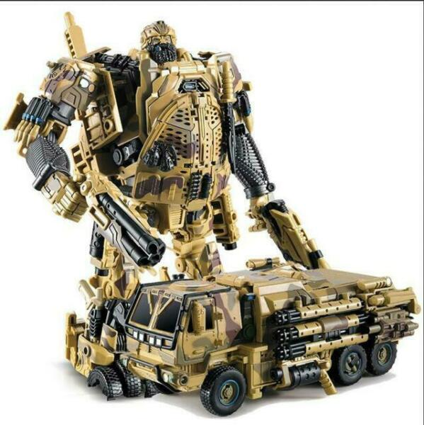 New WeiJiang Transformers Alloy revision M02 desert color Robot hound Figure