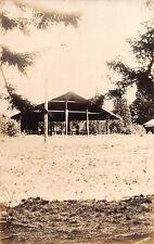 1928 RPPC Dining Shack Camp Hoffman West Kingston RI