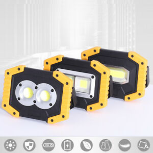 30W-Portable-USB-COB-LED-Flood-Light-Outdoor-Camping-Spot-Work-Lamp-Power-Bank