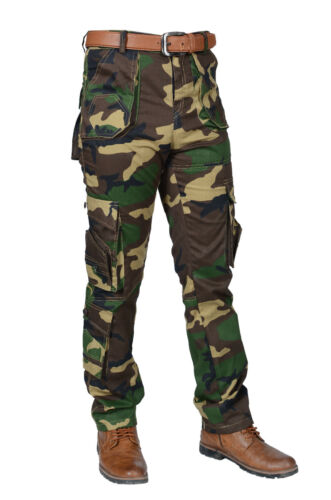 Military Mens Cargo Pants Army Work Trousers Combat Camouflage Camo Tactical USA