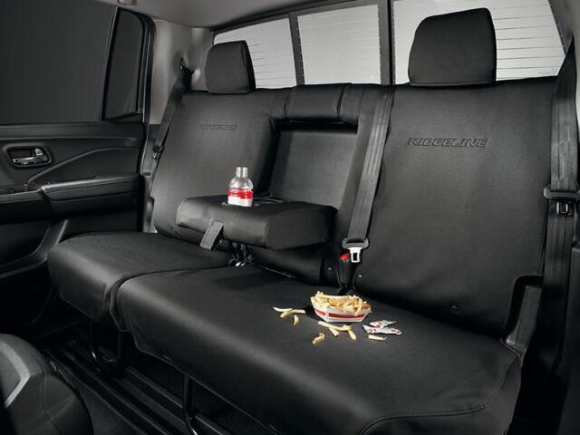 2017 2018 Honda Ridgeline 2nd Row Rear Seat Covers Genuine