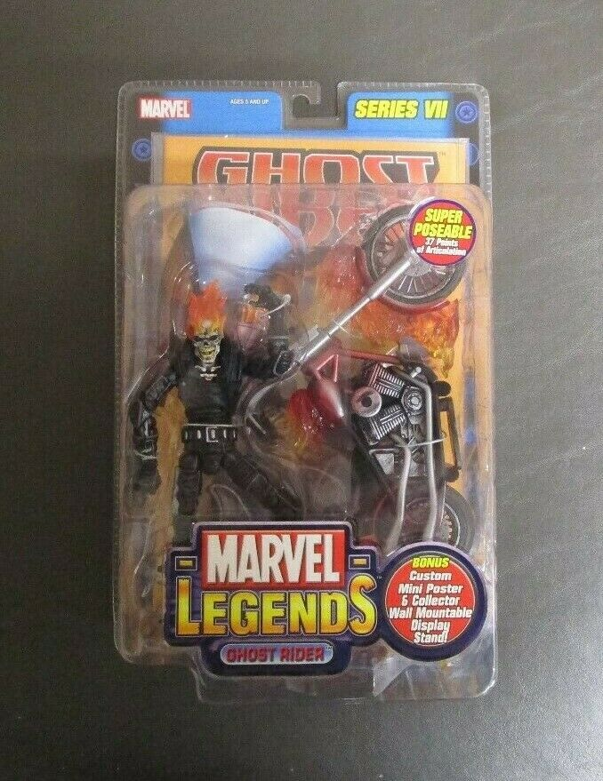 Ghost Rider Series Series Series VII 7 MARVEL LEGENDS Toy Biz MIB GV 15a09c