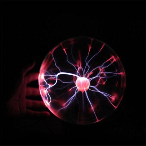 Hot Magic USB Sphere Lightning Lamp Light Party Black Base Glass Plasma Ball New