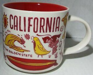 2017 Starbucks Been There Series California Souvenir Coffee Mug 14 FL Oz Cup CA