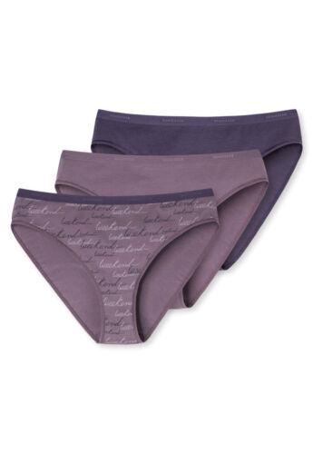 6 schiesser tai slips hipster slip 95//5 prune violette