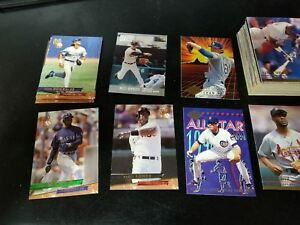 Details About Baseball Cards 1991 94 Fleer Ultra Commons Rookies Stars 169ct
