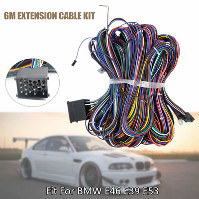 e39 radio wiring 1  fit for bmw e46 e39 extension cable kit e53 bm24 radio wiring  fit for bmw e46 e39 extension cable kit