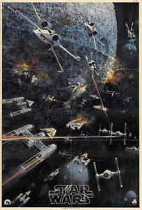 NEW-Star-Wars-1977-Style-J-27x40-034-Reprint-Classic-One-Sheet-Movie-Poster