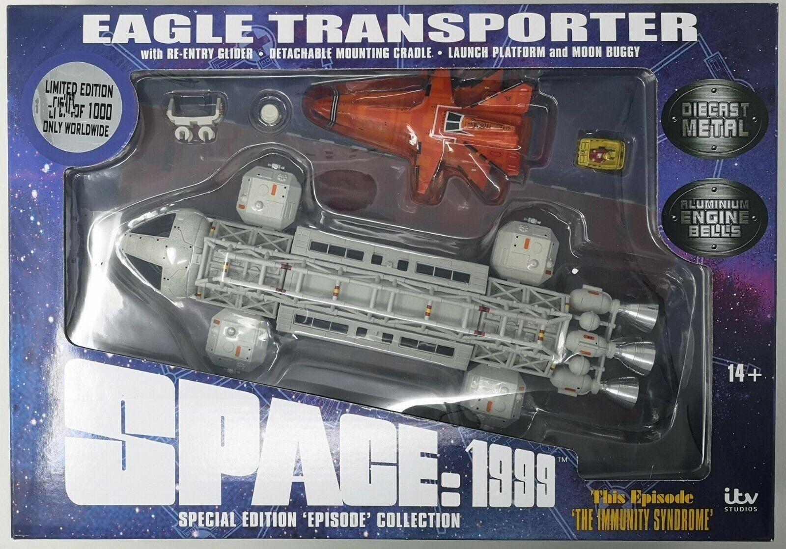 A la venta con descuento del 70%. Space 1999 Eagle Transporter Die Cast Episode Episode Episode The Immunity Syndrome Limited 1000  orden ahora con gran descuento y entrega gratuita