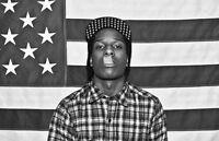 Asap Rocky Poster A$ap Problems Peso Long Live Asap Hip Hop Rap Brand