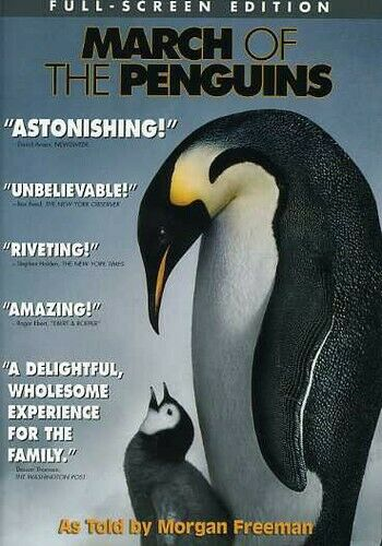 March Of The Penguins Full Screen Edition  - $3.00