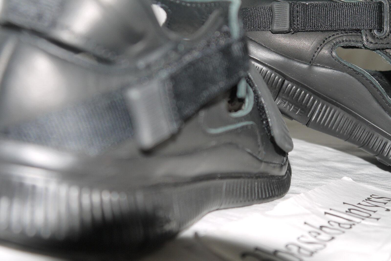 huge selection of 68bf8 8e520 ... Nike Free huarache carnívoro de tamaño 5 Nuevo Nuevo Nuevo 801759-001  Negro Lab SP ...