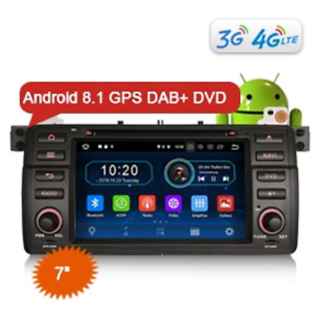 ES3946GE-7-034-Android-8-1-Car-Stereo-GPS-DAB-BMW-3-Series-E46-M3-Rover75-MG-ZT