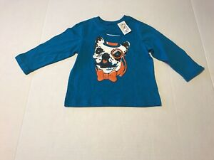 Children-s-Place-Boys-Long-Sleeve-Graphic-Tee-Shirt-18-24-Months-NWT