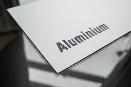 1.5mm 3mm thick 2mm Various sizes Satin Anodised Aluminium Sheet Metal