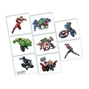 Avengers-Tattoos-1-Sheet-of-8-Tattoo-Squares