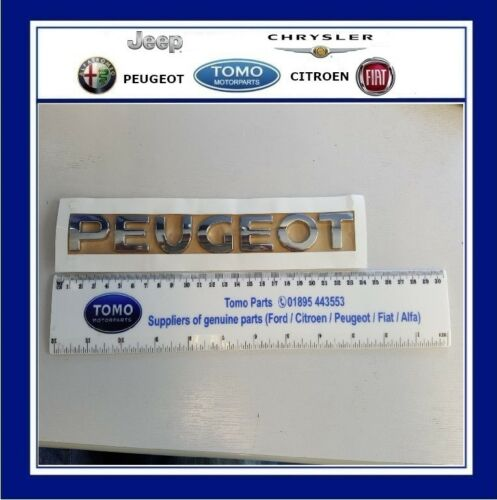 Nouveau véritable badge coffre peugeot arrière emblème 3008 /& 5008 2009 HDI THP bluehdi