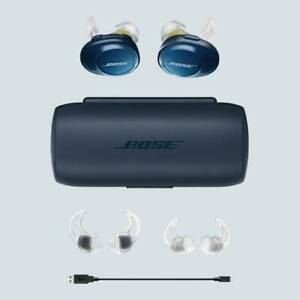 Bose-SoundSport-Free-Wireless-In-Ear-Headset-Navy-Citron-FREE-SHipping