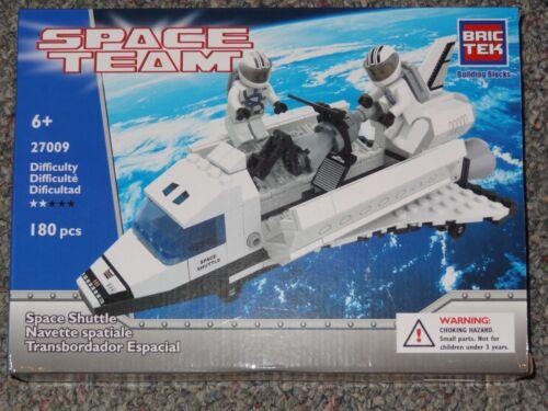 Space Shuttle BricTek Building Block Construction Toy Space Team Brick Bric Tek