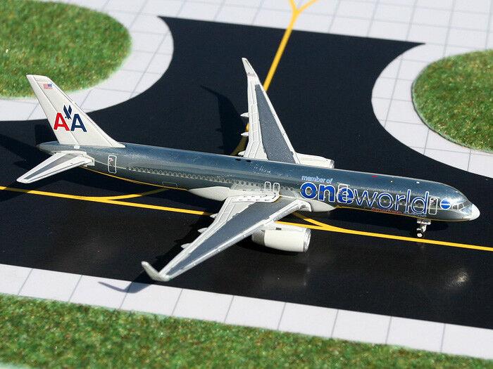 American Boeing 757-200 N174AA un mot Gemini jets gjaal 993 échelle 1 400  Rare