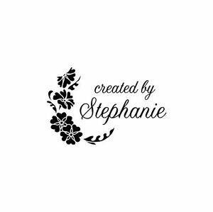 UNMOUNTED-PERSONALIZED-039-CREATED-BY-039-RUBBER-STAMPS-C90
