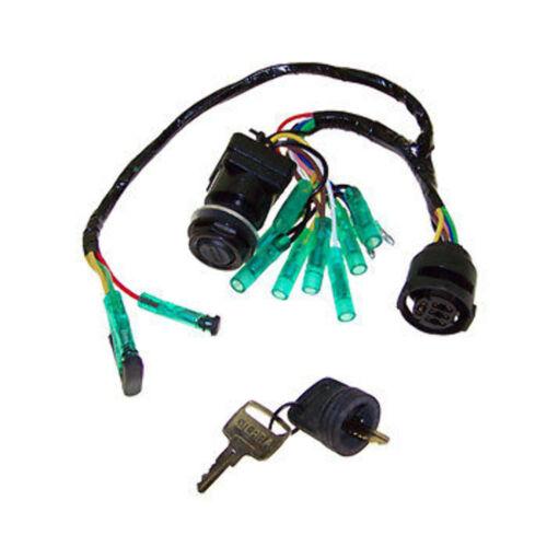 NIB Yamaha 90-115-130-150-175 Ignition Key Switch 2/&4 Stroke DASH 61B-82510-01