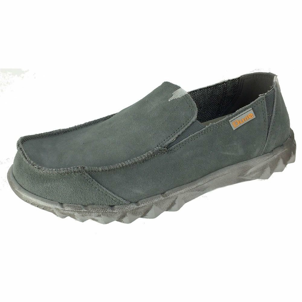 Mens Hey Dude Fur Lined shoes Farty Fume Slip On