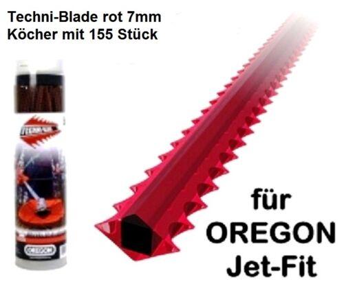 Mähfaden Techni-Blade 7.0mm 26cm 155 Stck. Freischneider Motorsense Oregon spez