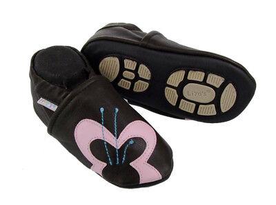 Marchio Popolare Pantofole's Pantofole Liya Krabbelpuschen - #684 Grande Farfalla-mostra Il Titolo Originale Elevato Standard Di Qualità E Igiene